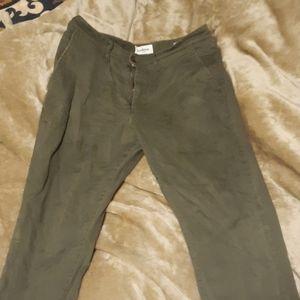 Good fellow green pants